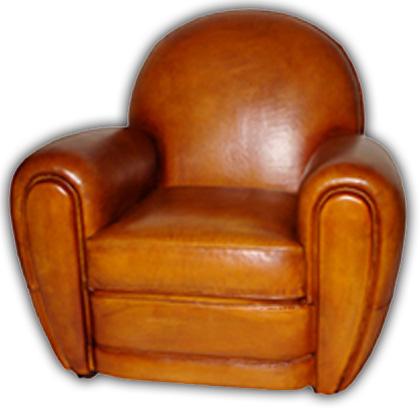 Anglais fauteuil club Bachschmidt Décoration