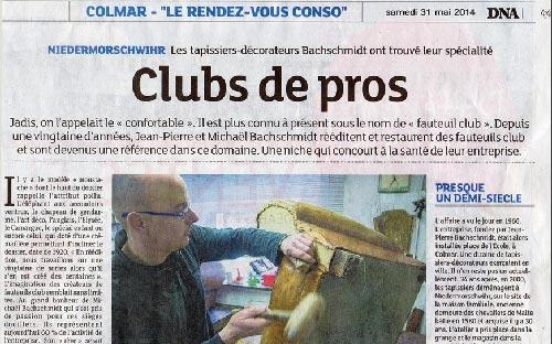 DNA et Fauteuil Club 2014