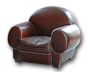 Ancien fauteuil club modèle Éléphant