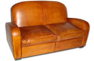 Canapé club modèle Art Déco de chez Bachschmidt