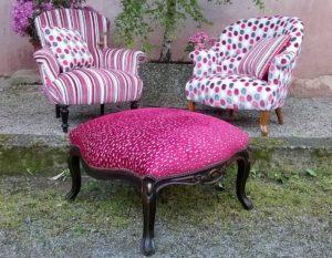 Rénovation fauteuil Napoléon III