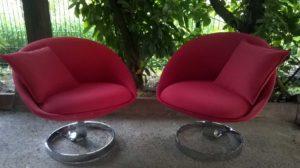Réfection fauteuils design style baignoire