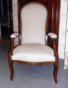 Réfection fauteuil voltaire
