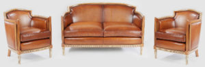Restauration canapé et fauteuil style Napoléon III