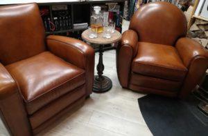 Offre de printemps un Guéridon fumeur pour l'achat de deux fauteuils Club